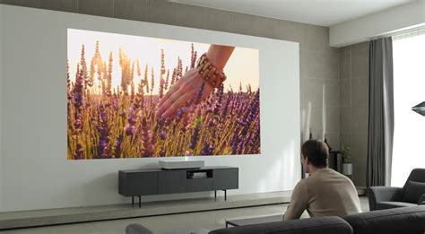 LG's New Laser Projector Works Just 2 Inches Away From