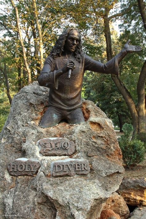 The World's Only Ronnie James Dio Memorial - a Six Photo