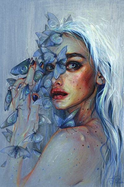 Lunar Pollen Canvas Art Print by Tanya Shatseva | iCanvas