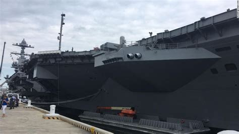 USS Gerald Ford: America's Answer To HMS Queen Elizabeth