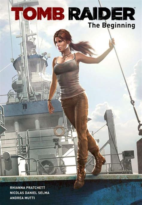 Preview of the Tomb Raider: The Beginning Comic