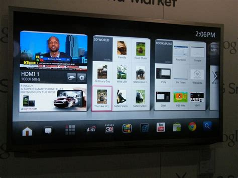 In pictures: LG Smart TV with Google TV | TechRadar