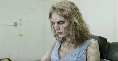 "Taylor Swift Reveals Zombie Transformation for ""Look What"