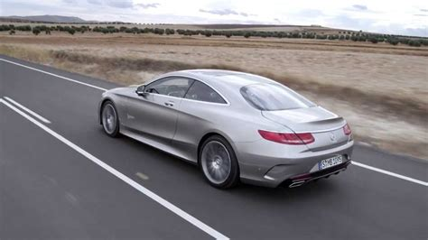 2014 Mercedes S 500 4MATIC Coupé driving footage - YouTube