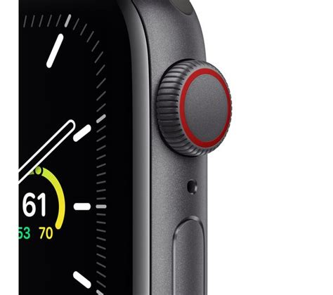Buy APPLE Watch SE Cellular - Space Grey Aluminium with