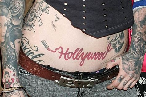 afrenchieforyourthoughts: kat von d tattoos on her body