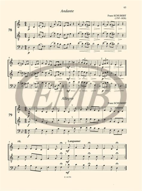 Duos for Trumpet and Baritone – Online sheet music shop of