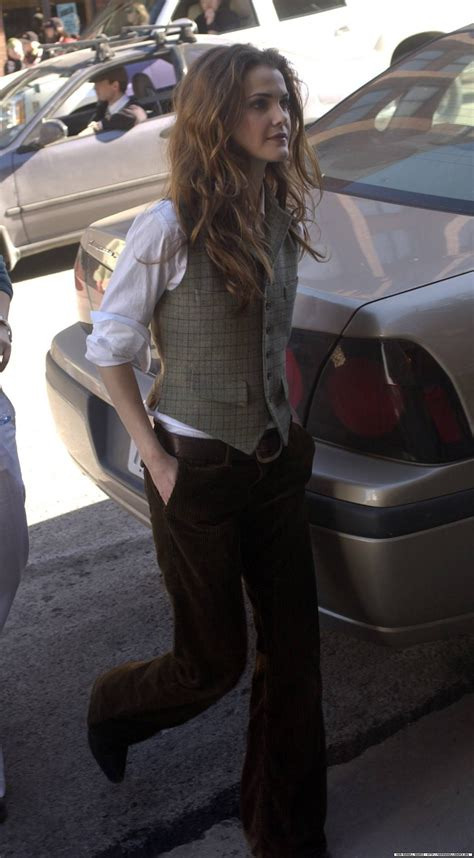 Love Keri Russell's style, digging it, if i were smaller