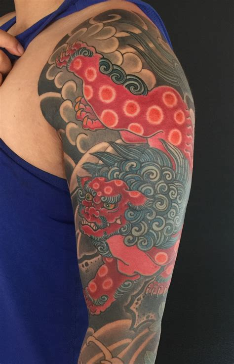Foo Dog Tattoo | Shishi Dog Tattoo | Authentink