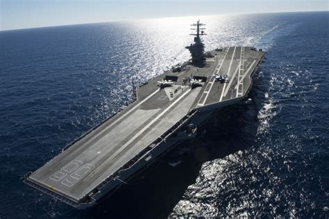 America's New Aircraft Carriers Will Use Lasers to