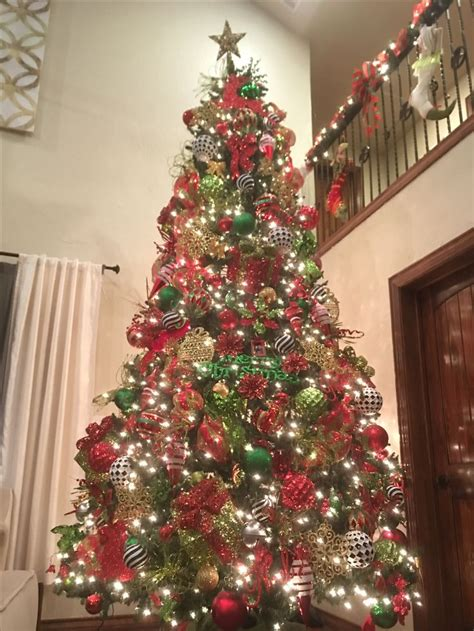 My Red, green, Gold, Black and white 12/14ft Christmas