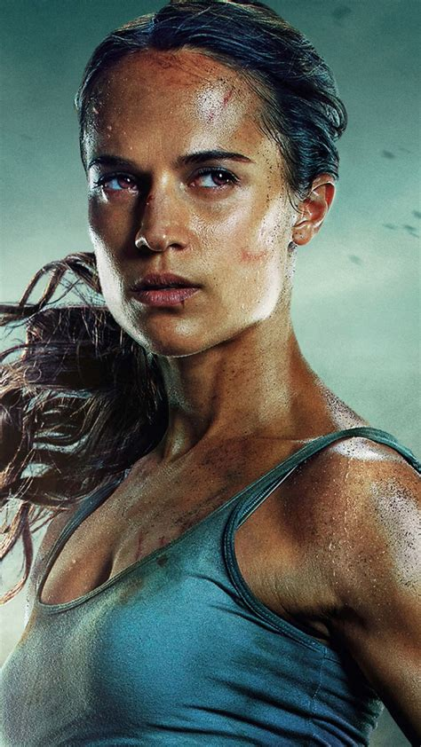 Wallpaper Lara Croft, Tomb Raider, Alicia Vikander, 5k