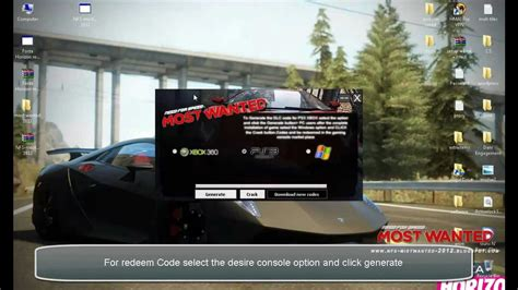 Need For Speed : Most Wanted DLC Codes For PS3 - Xbox 360