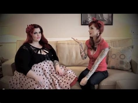 Plus Size Clothing Rockabilly Pinup Review with Tess