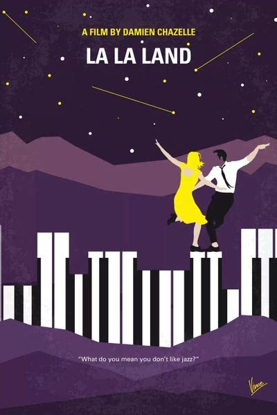 La La Land Minimal Movie Poster Canvas Print by Chungkong
