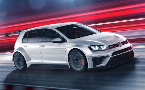 2016 Volkswagen Golf GTI TCR - Wallpapers and HD Images