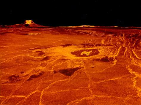 Greenhouse effect – Venus' crust moved by climate