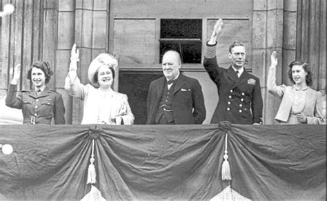 'A brief period of rejoicing' was given nod by Churchill