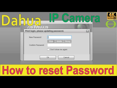 How to reset Dahua DVR admin password (solved) - Learn
