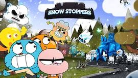 Snow Stoppers | The Amazing World of Gumball Games