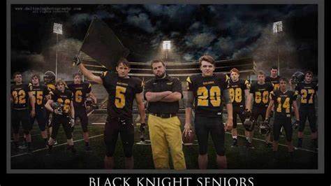 2013 Chuckey-Doak Black Knights Senior Intro - YouTube