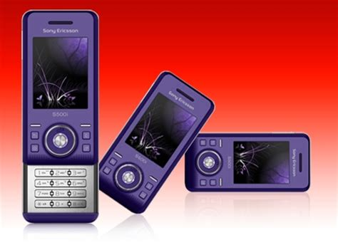 Sony Ericsson S500 Officially Turns Purple