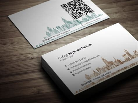 FREE 25+ Real Estate Business Card Templates in PSD | AI