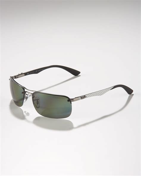 Lyst - Ray-Ban Polarized Tech Sunglasses in Gray for Men