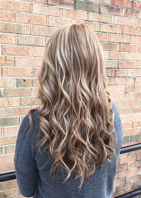 The fall blonde is a blend of natural blonde/ cool brown